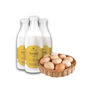 Молочные продукты, яйца